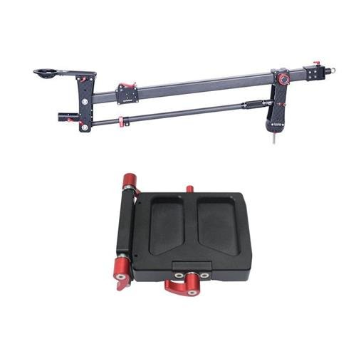 Ifootage m1-iii Mini Crane, Holds 33 lbs – withロープロファイルクイックリリースアダプタ   B078X7CM9P
