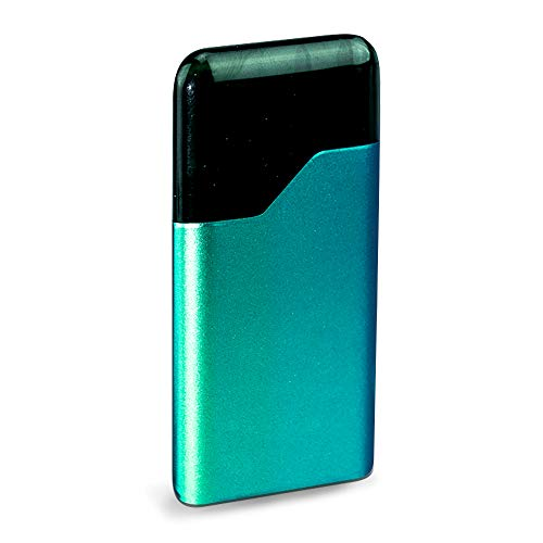 IT'S A Skin Decal Vinyl Wrap for Suorin Air Pod Vape Sticker Sleeve, Aqua Marine Matte Green 3M Color Shifting ()