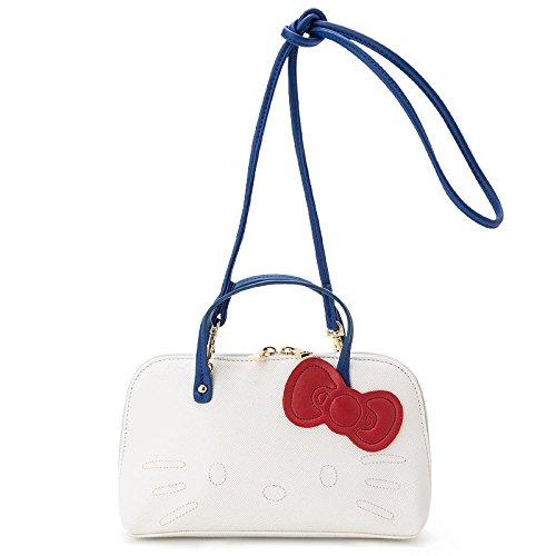 Hello Kitty mini shoulder bag White matte Sanrio fashion bags & bag accessories series by Sanrio