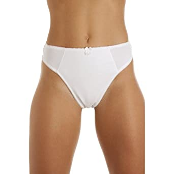 Camille Womens Ladies Micro-Fibre Briefs Control Thong Knickers ...