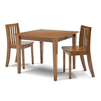 Solutions by Kids R Us Table and 2 Chair Set - Honey Childrenu0027s Table -  sc 1 st  Amazon.com & Amazon.com : Solutions by Kids R Us Table and 2 Chair Set - Honey ...