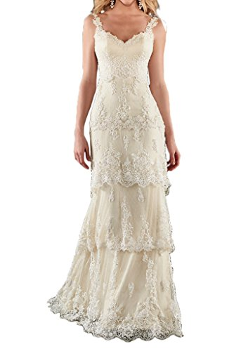 affordable beach wedding dresses - 9
