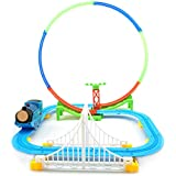 Kiditos Electric Train Tracks with Sound & Light Toy