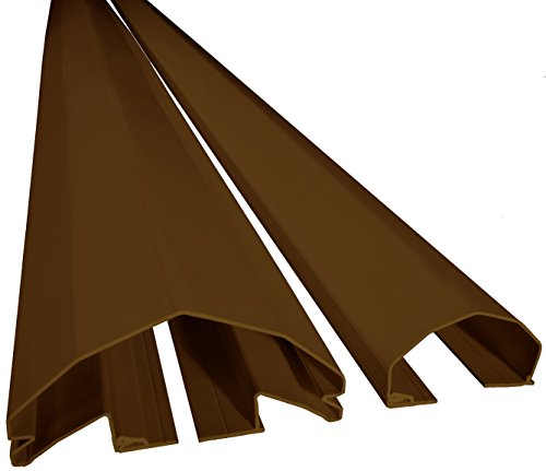 PINCHSHIELD PRO 76.8'' BROWN (10 PACK) FOR 180 DEGREE DOORS by PINCHSHIELD.COM