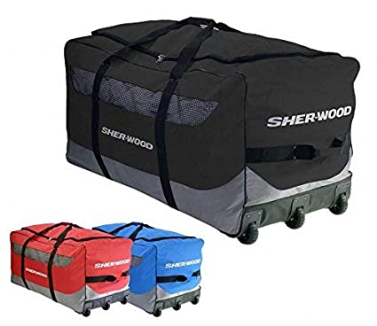 Sherwood Bolsa para Hockey sobre Hielo SL 800 Goalie Wheel ...