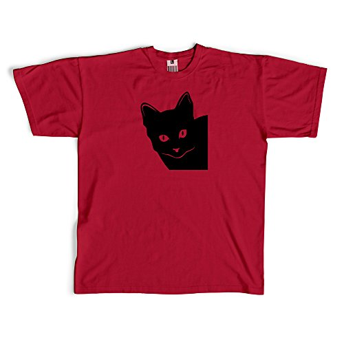 Kitty Cat Face t-shirt cotton unisex crew neck and womens...