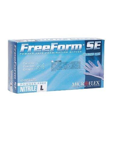 Freeform Cuff - Microflex FFS-700-S Freeform SE Powder-Free Examination Glove, 9.6
