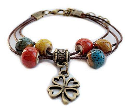 Porcelain Beads Bracelet - 7