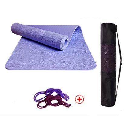 WEAF-Grueso ancho y longitud de Pilates y yoga Mat 183 cm ...