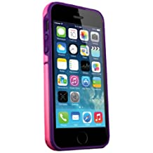 iSkin EXO5S5-PKP Exo5S5Pkp Exo iPhone 5/5S Pink/Purple-Carrying Case-Retail Packaging-Black