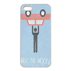 Custom Cover Case for iPhone 5,iPhone 5s w/ walk the moon image at Hmh-xase (style 11) BY shenglong