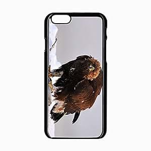 iPhone 6 Black Hardshell Case 4.7inch golden predator wings Desin Images Protector Back Cover