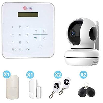 Pack de Alarma para casa con cámara Interior: Amazon.es ...