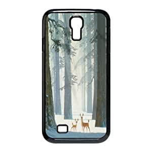 High quality cute deer series protective case cover For SamSung Galaxy S4 Case DEAR-003-D2815