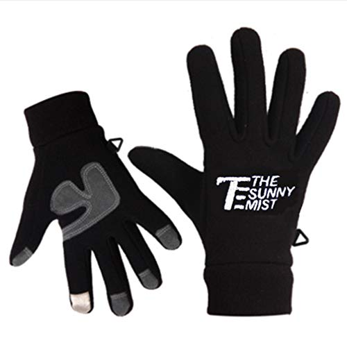 - Winter Gloves -20°F Cold Proof Thermal Driving Glove - Insulated Cotton Windproof Membrane in Cold Weather Men Women (Medium, Black)