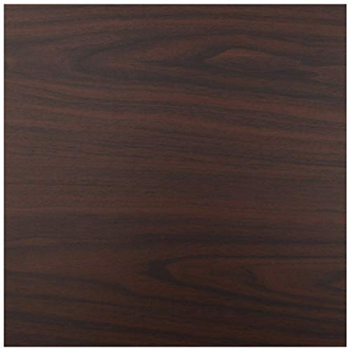 (Wood Grain Contact Paper Film Countertops Vinyl Wallpaper Sticker Peel and Stick Self-Adhesive Wrap Authentic Black Walnut Look, Durable,Waterproof for Kitchen Home and Office (24''x)