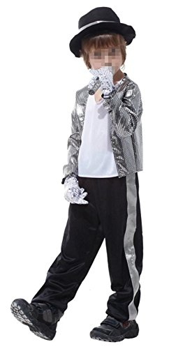 [Betusline Kids Boys Prince Performance Clothing Halloween Jazz Dancer Costume] (Jazz Dancer Halloween Costume)