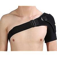 Shoulder Brace Ajustable con almohadilla de compresión para terapia de calor o frío prevención y recuperación de dislocado desgarro lesion Hombro Soporte de Neopreno rotador Protector