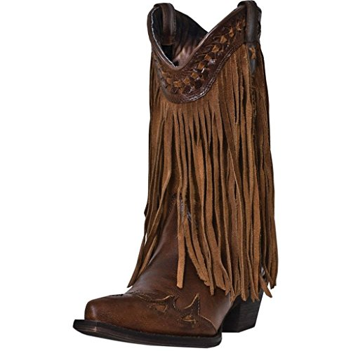 Dingo Women's Heart Throb Western Boot,Rust Triad,6 M US