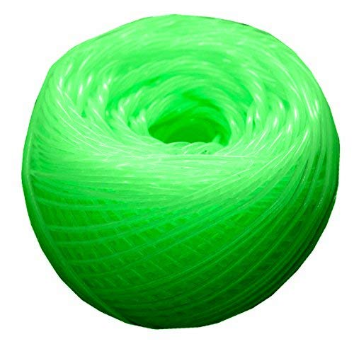 Jelly Yarns Green Peppermint Glow-in-The-Dark FINE 85 yd Ball ]()