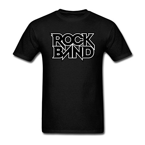 Tommery Men's Rock Band Game Logo Short Cotton T - Nude Video Flash