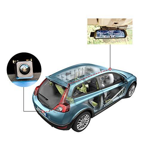 NEW CHICOM V21 9.66 inch Mirror Dash Cam Touch Full Screen ; 1080P 170° FHD