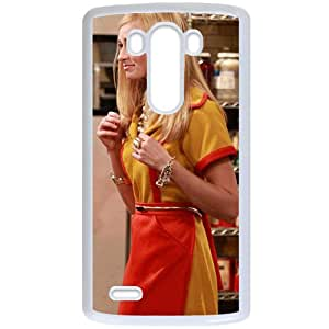 2 Broke Girls LG G3 White Christmas Gifts&Gift Attractive Phone Case KHUAA522485