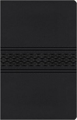 NKJV, Gift Bible, Imitation Leather, Black, Red Letter Edition