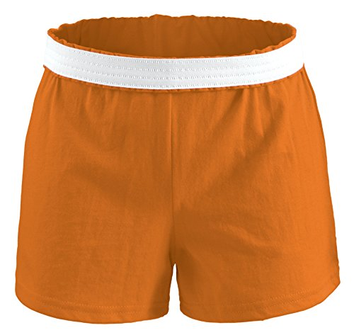 Soffe Athletic Youth Cheer Shorts, Orange, X-Small