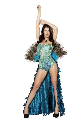 2 Piece Pretty Peacock Costume 4410-AS-M/L