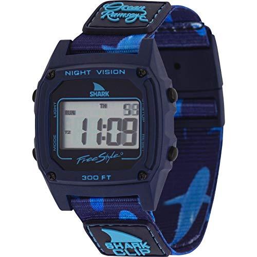 Freestyle Ocean Ramsey Signature Shark Classic Clip Deep Blue Unisex Watch FS101055