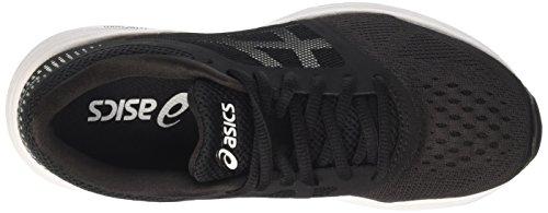 Asics Roadhawk Ff Gs, Zapatillas de Entrenamiento Unisex Bebé Negro (Black/white/silver)