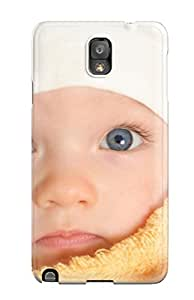 [CDkPeOb317VVOQN]premium Phone Case For Galaxy Note 3/ Blue Eyes Tpu Case Cover