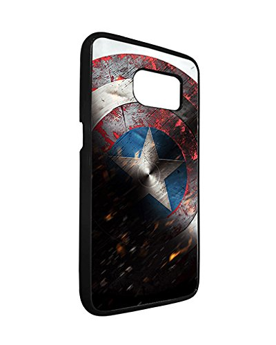 Marvel Samsung Galaxy S7 Edge Case Spiderman SuperHero, Galaxy S7 Edge Case Marvel Comic Logo TPU Silicone Protective Case Cover for Girls