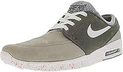 Nike Sb Zoom Stefan Janoski Max Suede Wolf Greycool Greyhot Lavawhite Skate Shoes-9