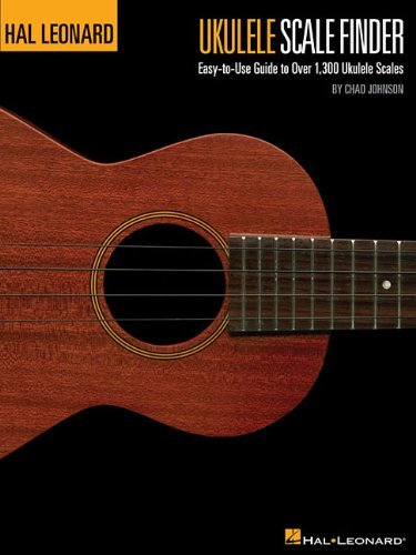 Hal Leonard Ukulele Scale Finder 9X12 Guide To 1300 Scales Uke Book by VARIOUS (2010) Paperback ()