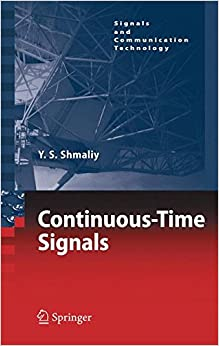 Book Continuous-Time Signals (Signals and Communication Technology)