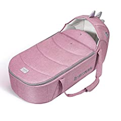 Newborn comfort in a lightweight, lie flat carrycot that travels with you. With a protective zip lid to shield your baby from the elements and a flip out sun hood, the carrycot also provides carry handles and a firm base, it's the ideal way t...