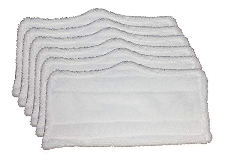 (AI-Vacuum 6 pc Microfiber Pads (XT3101) for Shark Steam Mop S3101, S3250, S3202)