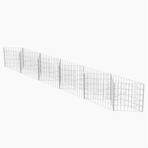 BLUECC Garden Fencing U-Shape Steel Gabion Basket/Planter/Raised for sale  Delivered anywhere in USA