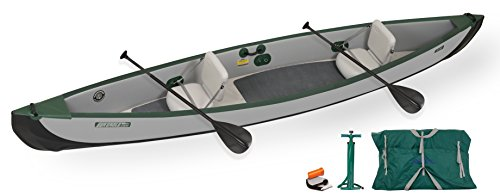 Sea Eagle TC16 Inflatable Travel Canoe Start Up Package by Sea Eagle