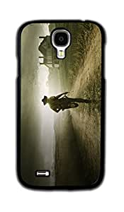 Tomhousomick Custom Design The Walking Dead Case for Samsung Galaxy S4 Phone Case Cover #129