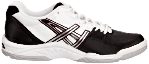 4digital Media Asia  Gel Game 3, Herren Sneaker, Schwarz Nero (Black/Lightning/Lipstick Red)