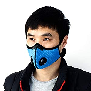 Cycling Running Outdoor Face Masks Sport Dust Mask Starter Training Mask Dustproof Carbon Filtration Workout Running Motorcycle Cycling Mask,1pc,2pcs,5pcs,10pcs,Black