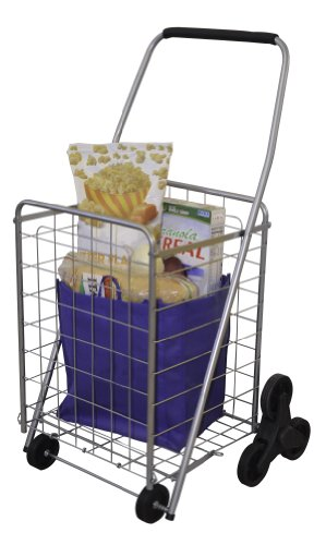 Helping Hand Deluxe Stair Climber Cart | Folding Cart - Great for Shopping, Camping, Sport Events, & Much More