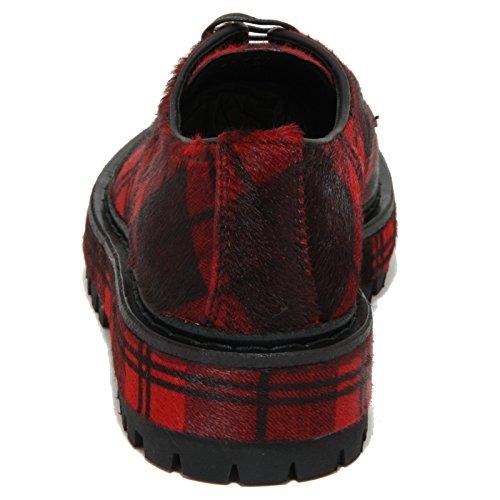 Donna Allacciate Rosso Women Rubino Car Scarpe Shoes Shoe 1784o Fnpvvf