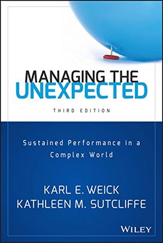 Managing the Unexpected: Sustained Performance in a Complex World pdf