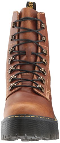Dr.Martens Womens Leona 7-Eyelet Leather Boots Butterscotch
