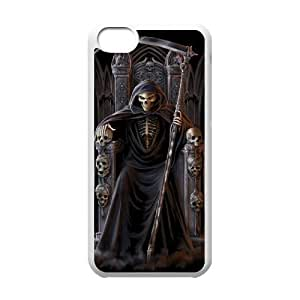C-EUR Print Grim Reaper Pattern Hard Case for iPhone 5C