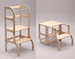 Convertible Helper tower - table/chair S...